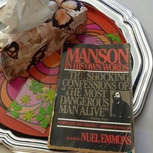 Other - True Crime Book Manson In His Own Words